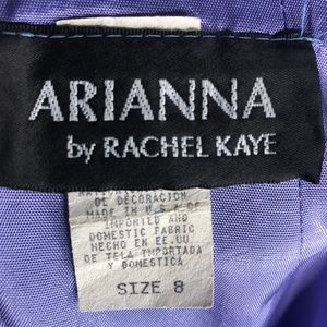 Arianna by Rachel Kaye Dresses - Arianna by Rachel Kaye Blue Embellished Gown H0813